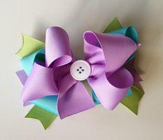 Handmade Girl's Baby/Toddler/Kid Hair Bow by InspiredbyLayla, $5.00