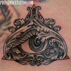 #eyeofprovidence #tattoo #providencetattoo #providence #eye #tattoos