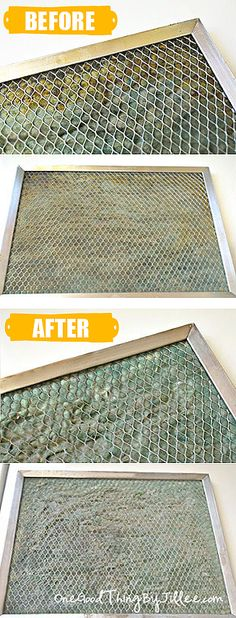Cleaning Vent Filter