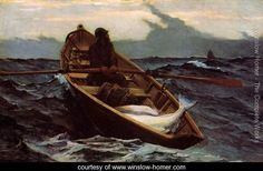 The Fog Warning - Winslow Homer - www.winslow-homer.com