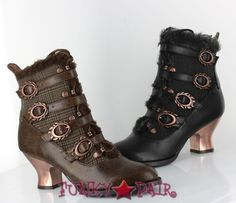 Nephele * 2.5 Inch Victorian Ankle Boots