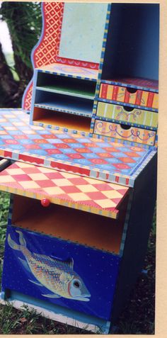 Funky Painted Furniture