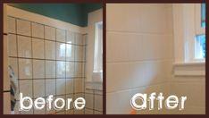 Painting over floor tiles bathroom