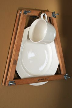 Tennis Racquet Plate Display by Mamie Jane's