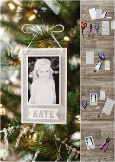 How to Make Easy Photo Ornaments :: The TomKat Studio http://www.thetomkatstudio.com/howtomakeaphotoornament/