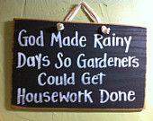 Tuinbord - Garden quote - garden sign