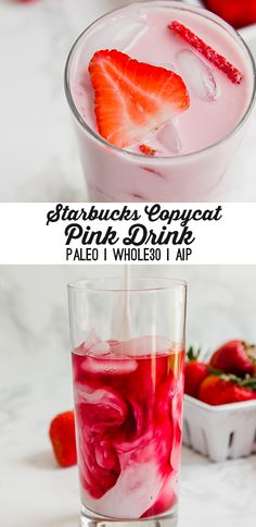 Copycat Pink Drink (Paleo, AIP, Whole30, Healthier) - Unbound Wellness