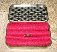 Family Jewels Altoid Box Elegant and useful by PolkaDotWorld, $6.00