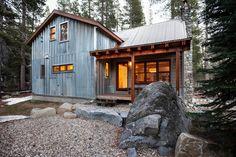 Donner Summit Cabin. California.