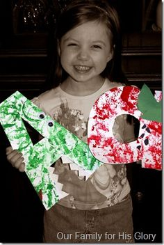 Adorable upper and lowercase letter crafts.