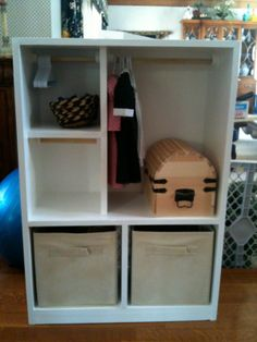 """18"""" Doll: Armoire"""