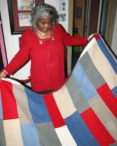 Gee's Bend quilt - very simple.
