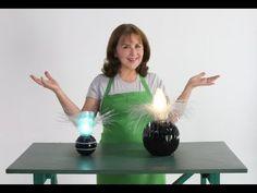 ▶ Abajur feito de garrafas Pet - Reciclar com Arte - YouTube