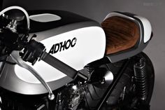 Love the beautiful detailing and paintwork on this Honda Nighthawk 750 from Spain's Ad Hoc Cafe Racers.