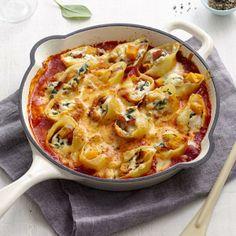 Baked Pumpkin, Spinach and Ricotta Stuffed Shells    Recipe   Perfect Italiano