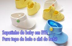 Sapatinho de bebê passo a passo da botinha