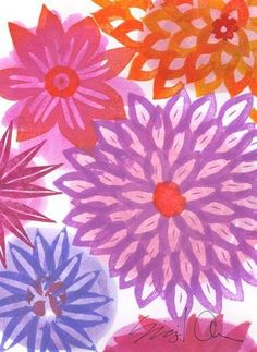 box of 12 assorted flower cards $32