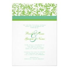 ... Green Wedding Invites, 800+ Apple Green Wedding Invitation Templates