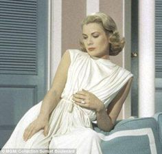 The actress could be seen wearing the film in High Society