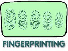DIY fingerprinting powder