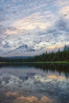 Reflections of Mt. Hood - Trillium Lake, OR