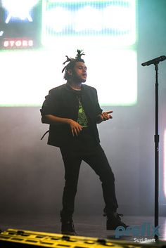 The Weeknd-his concert was awesome!I saw him in Los Angeles & he was great!