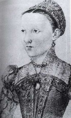 Mary, Queen of Scots, age 9