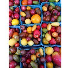 Snapshots from the #farmersmarket #lycopene