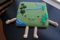 Acre of Land Pillow Tutorial and Earth Week