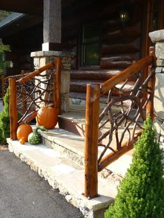 Hickory Hollow Rustics local made Franklin-Laurel Railings
