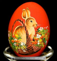Hand Painting Egg Painted Eggs
