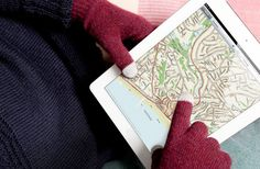 Etre FIVEPOINT gloves - Gloves for your iPhone, iPad, iPod touch/nano and other touch-screen devices...
