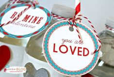 Printable Valentine Tags - Todays Creative Blog