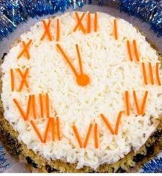 Yılbaşı Saati Salatası Tarifi    www.afiyetle.com