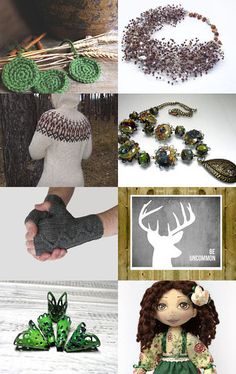 Walking in the woods  by Elena Novikova on Etsy--Pinned with TreasuryPin.com
