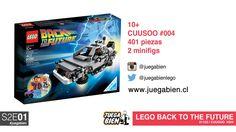Juega Bien - S2E01 - LEGO 21103 Cuusoo #004 - Back to the future (Building Timelapse)