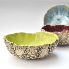 clay, artcraft idea, handmade pottery, ceram, handmade gifts, handmad potteri, gift idea, bright colors, bowls