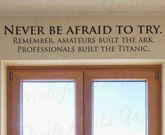 My new life motto