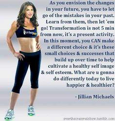 Jillian Michaels Inspiration workout motivational q...