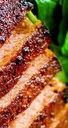 Cocoa and Chili-Rubbed Pork Chops