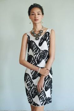 Sequin zebra dress @Anthropologie I actually like this...