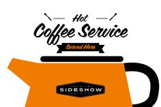 Coffee Service by Sideshow - Desktop Font, WebFont and Mobile Font available at YouWorkForThem.