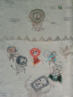 hand embroidery | Miga de Pan  Love...so....much