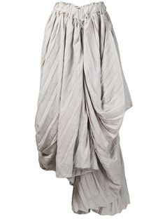 YOHJI YAMAMOTO Pleated Skirt