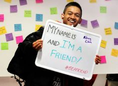 """#BeAFriend - Members of the Asian Caucus of Boston College, University Counseling Services, the Office of Health Promotion and the National Asian American Pacific Islander Mental Health Association worked together to """"break the silence"""" and fight a stigma of mental health in the BC Asian community with """"Silver Week"""""""
