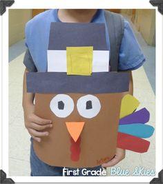 Perky Turkeys ~Easy Thanksgiving Craft