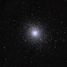 Between the constellations Libra & Serpens is the globular star cluster M5, packing 100,000 stars or more, bound by gravity, into a region about 165 light-years in diameter. It lies some 25,000 light-years away from planet Earth. The stars in M5 are some of the oldest in the Milky Way, some 13 billion years old.