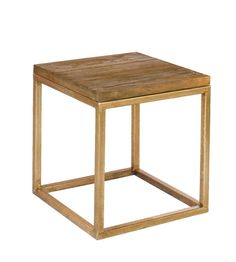 Gold Side Table via Etsy