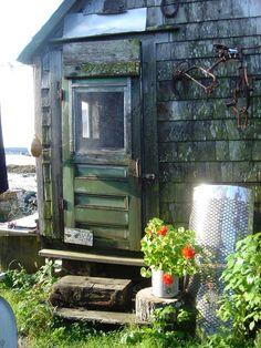 Jonesport, Maine, sea shack