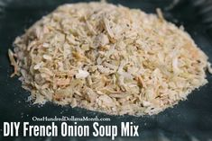 DIY French Onion Soup Mix french onion mix, diy french onion soup mix